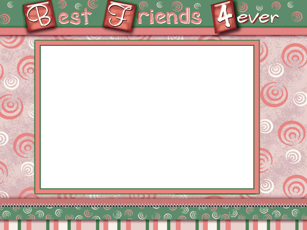 Best Friends Forever Photo Frame Picture Frame Ideas